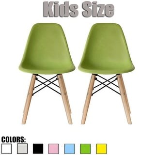 wooden chair with arms for toddler pink zebra buy dining chairs kids online at overstock com 2xhome set of two 2 modern chairside no arm armlesscolorswith natural wood legs