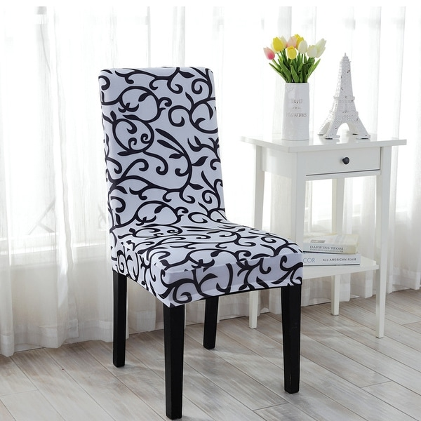 chair slipcovers australia patterned club shop unique bargains stretch dining cover - on sale free shipping orders over $45 ...