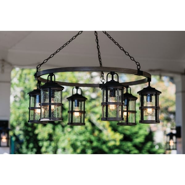 https www overstock com lighting ceiling fans hinkley lighting 2689 lakehouse 6 light 42 wide outdoor chandelier aged zinc driftwood grey n a 27407586 product html