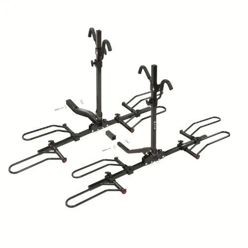 Shop Pro Series Q-Slot 4 4 Bike Carrier Rail Rack W/Tilt