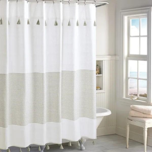 brown striped shower curtains find