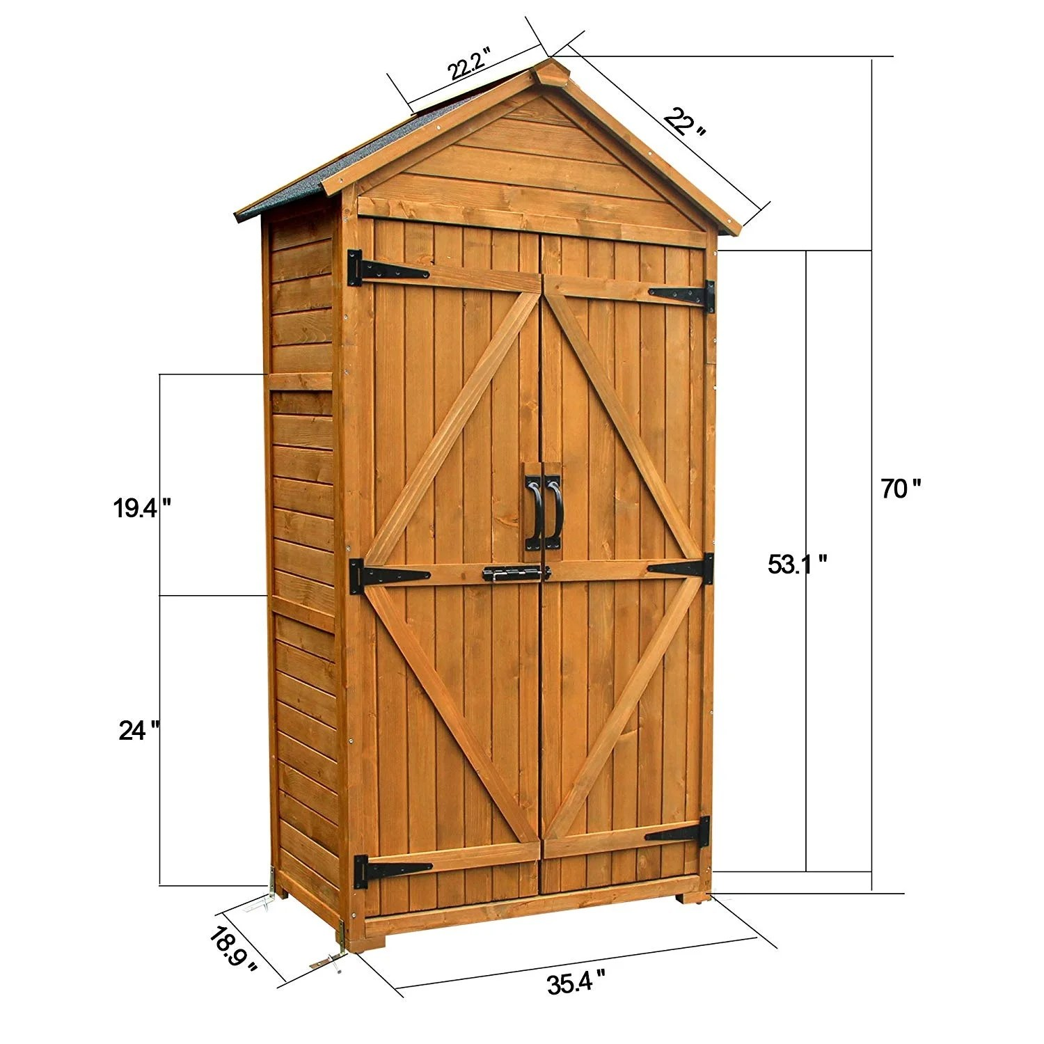 outdoor storage cabinet tall patio
