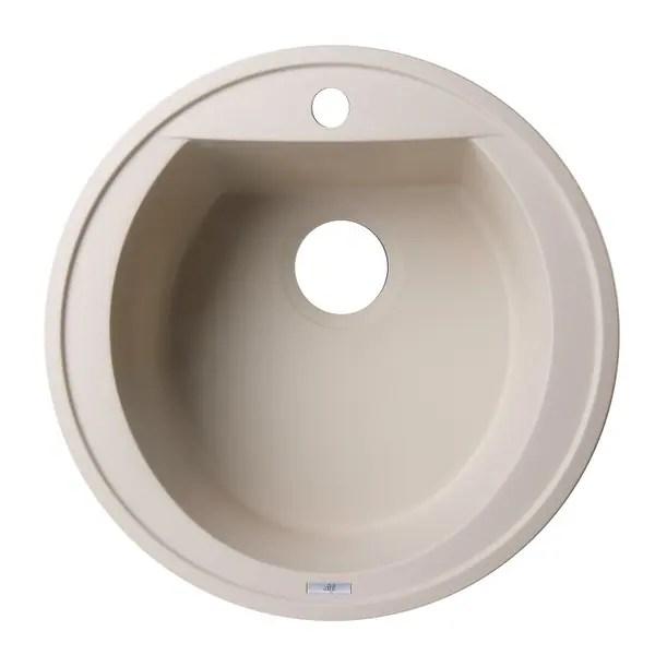 3 basin kitchen sink cushioned mats alfi brand ab2020di 15 8 single drop in granite composite