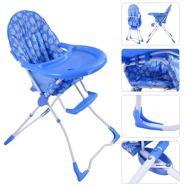 booster seat high chair leap office chairs shop baby infant toddler feeding folding safety portable blue