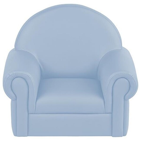 soft toddler chairs vinyl chair cleaner shop s zone little lux powder blue free