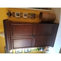 Ashley Heights Home Bar Wine Cabinet - Free Shipping Today ...