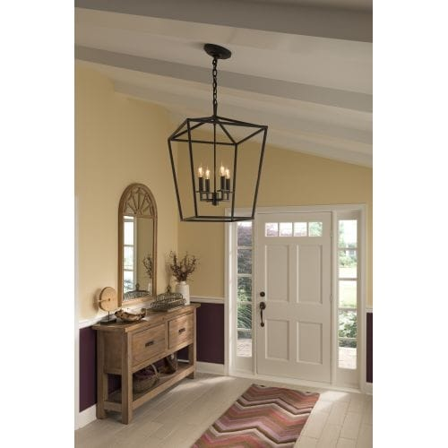 Norwell Lighting 1081 Cage 18 Wide 4 Light Pendant With Steel Free Shipping Today 20074730