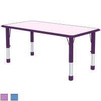 Shop (Retired) 2xhome Adjustable Height Kids Table For ...
