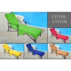 Beach Towels With Pocket For Lounge Chair Covers Decoration Shop Chaise Cover Pool Lounge, Lawn, Patio Slip-on Back - Free Shipping On Orders ...