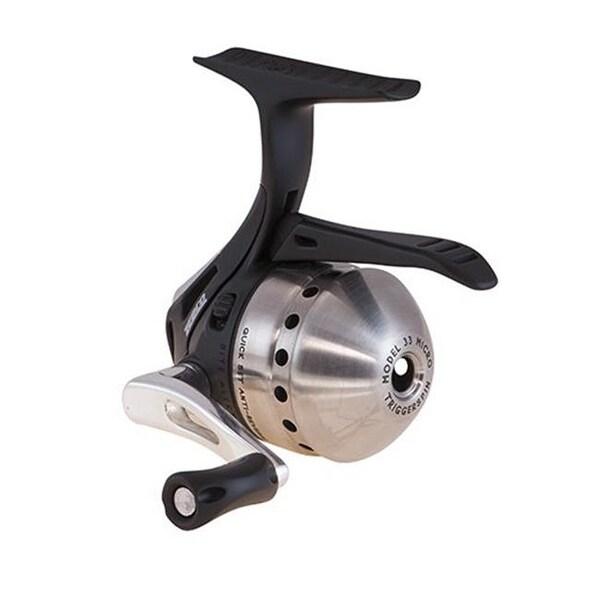 zebco fishing chair cover rentals dc shop quantum 33mtka 04c cp2 33 micro trigger spincast reel amp clam