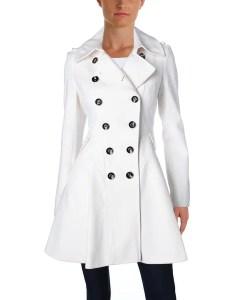 Via spiga womens pea coat winter wool blend also shop free shipping rh overstock