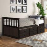 Shop Captain S Bed Twin Daybed With Trundle Bed And Storage Drawers Overstock 32200775