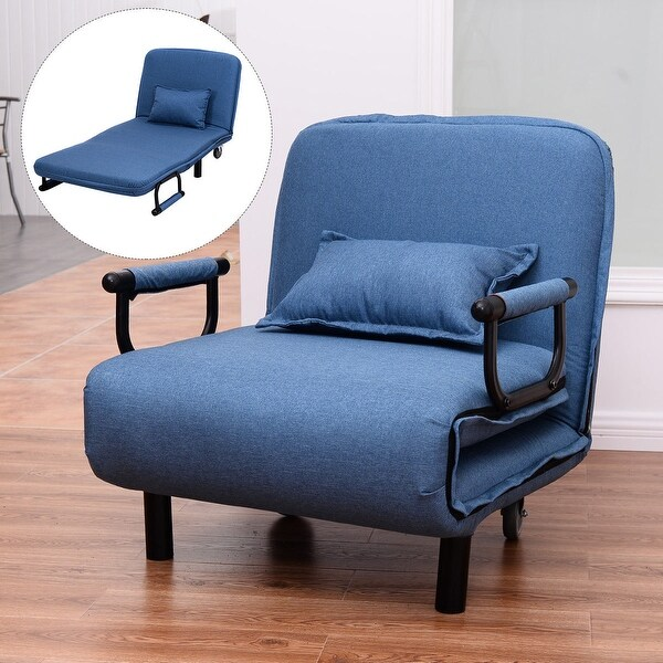width of a sofa bed turned legs uk shop costway folding arm chair 29 5 convertible x27