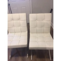 White Leather Chairs Dining Zodiac Chair Design Shop Milania Set Of 2 By Christopher Knight Home On Sale Free Shipping Today Overstock Com 6787731