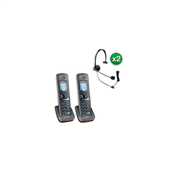 Shop Uniden DCX400-2 w/Headset 2 Line DECT 6.0 Extra