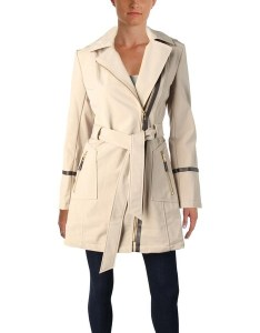 Via spiga womens car coat fall water repellent also shop free shipping rh overstock