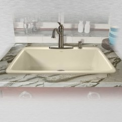 Cast Iron Kitchen Sinks Appliance Ratings Shop Miseno Mci53 4tm 33 Single Basin Drop In Sink N