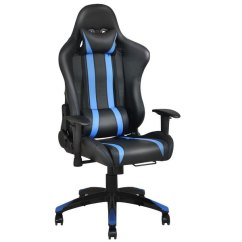 Office Chair Posture Buy Design For Church Shop Costway Racing High Back Reclining Gaming Ergonomic Computer Desk Blue