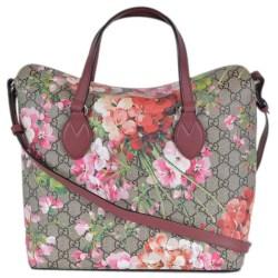 3d41cf3818ad57 Shop Gucci 427147 Supreme Canvas Gg Floral Blooms 2 Way Purse