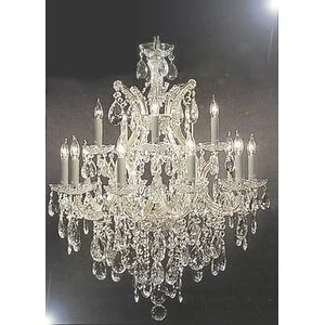 Swarovski Crystal Trimmed Maria Theresa Chandelier Lighting Free Shipping Today 18356857