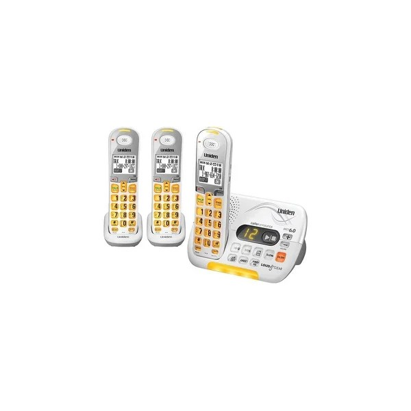 Shop Uniden D3097-3 Amplified Cordless Phone with 2