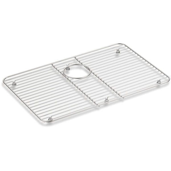 kohler k 8343 iron tones basin rack for k 5708 stainless steel