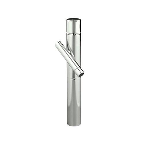 jado credo monoblock vessel bathroom sink faucet brushed nickel