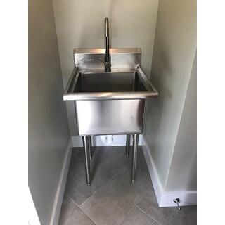 trinity stainless steel single basin