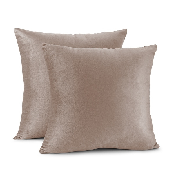 taupe throw pillows online at overstock