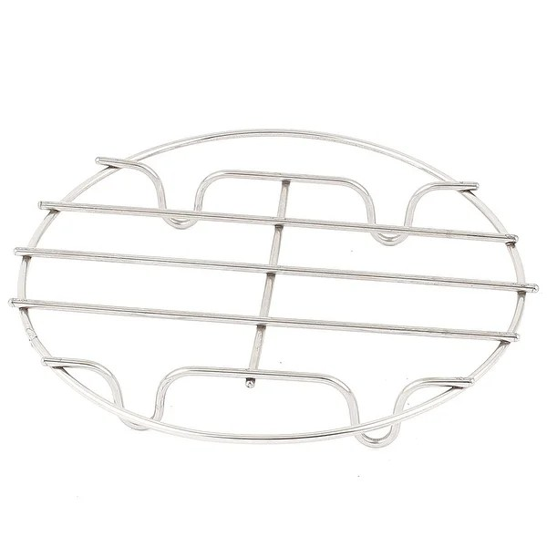 Shop Home Kitchen Cookware Dish Rack Grill Steamer Basket