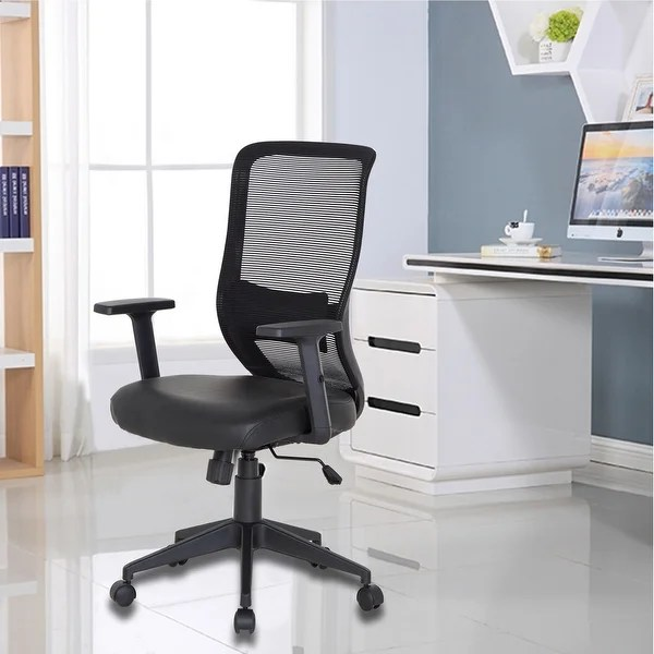 office conference room chairs black leather arm chair shop vecelo premium home for task desk work