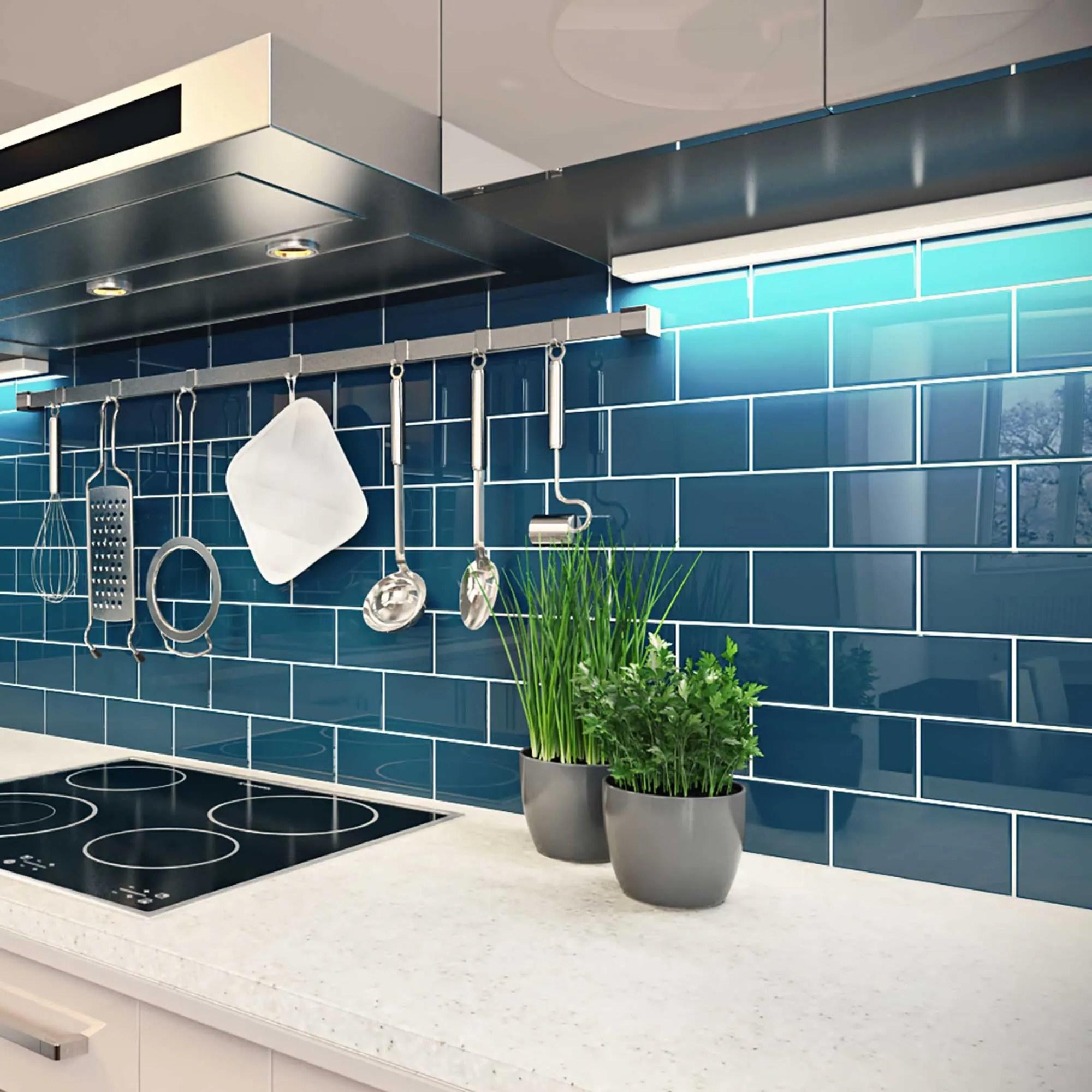 buy blue backsplash tiles online at