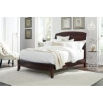 Brighton King Size Low Profile Sleigh Bed In Cinnamon Overstock 3140686