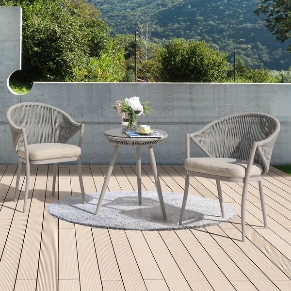 buy aluminum outdoor bistro sets online