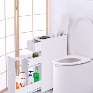 white bathroom cabinets & storage for less | overstock