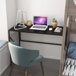 Elephance Foldable Wood And Metal Computer Desk Folding Writing Table Home Office Overstock 31842221