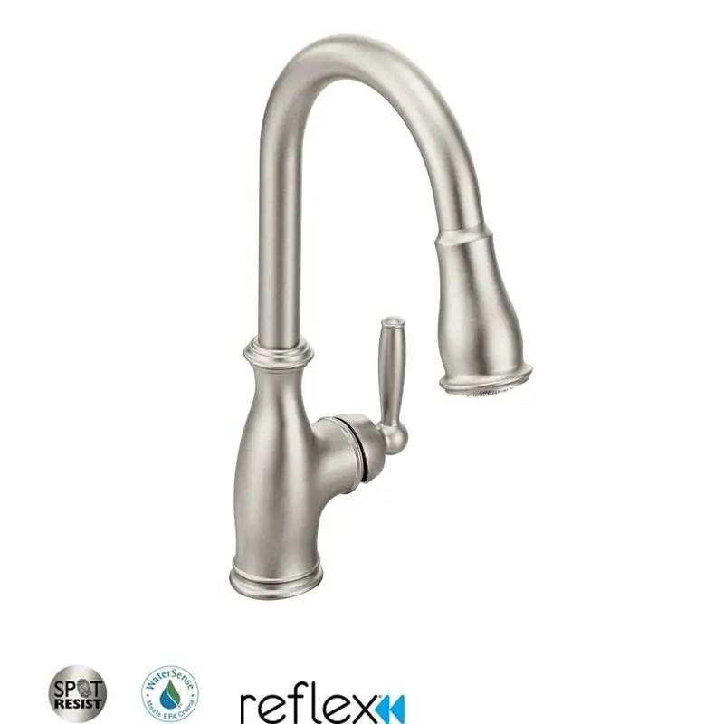 buy moen kitchen faucets online at