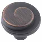 Shop Black Friday Deals On Stone Mill Hardware Oil Rubbed Bronze Hawthorne Cabinet Knobs Pack Of 10 Overstock 21335700