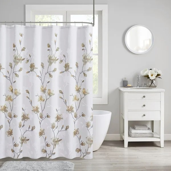 yellow shower curtains find great