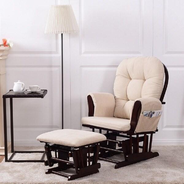 Shop Costway Baby Nursery Relax Rocker Rocking Chair