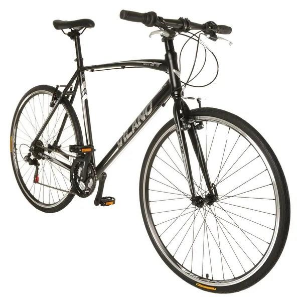 Shop Vilano Diverse 1.0 Performance Hybrid Bike 21 Speed