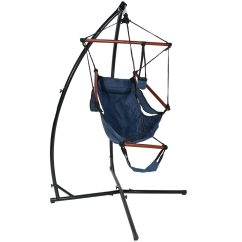 Hanging Chair Stand Only Computer Wheels Shop Sunnydaze Durable X And Hammock Set Or You Choose Free Shipping Today Overstock Com 12031876