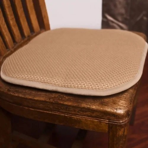 chair pad foam covers for wedding sale shop honeycomb memory non slip 2 piece set 17x16 inches free shipping on orders over 45 overstock com 15634802