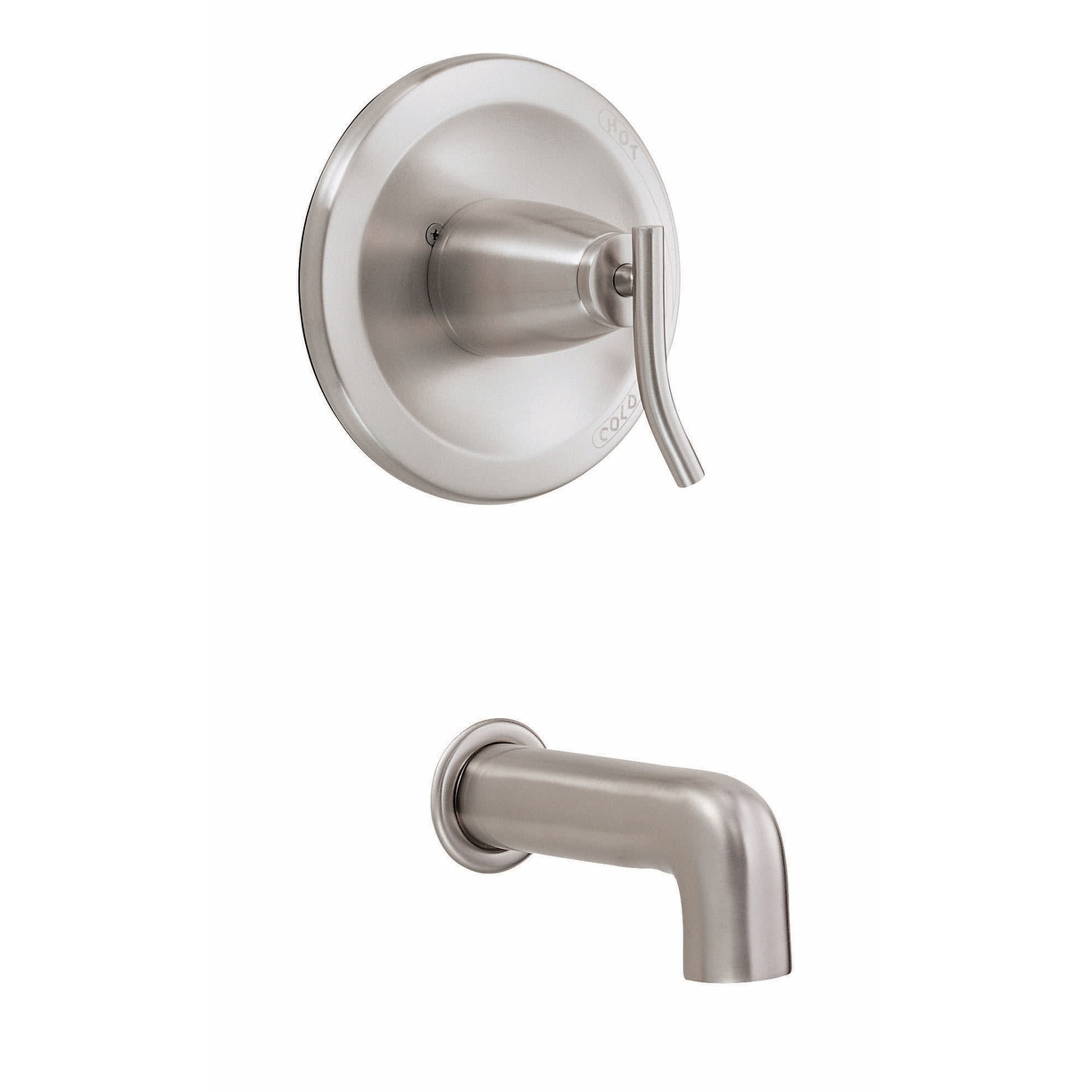 danze d500654bnt pressure balanced wall mounted bathtub faucet package brushed nickel