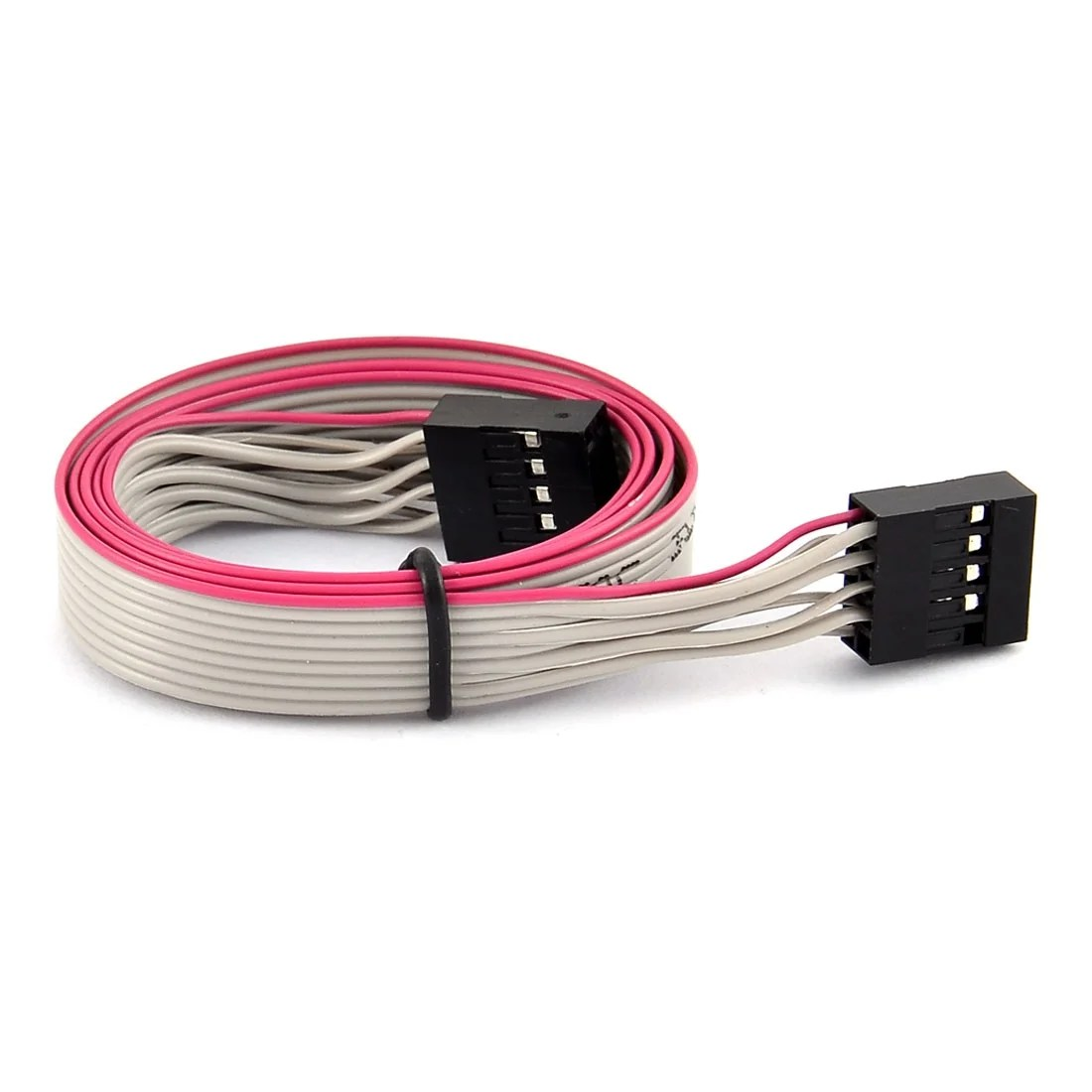 hight resolution of shop 62cm 9 pin female to female wires extension flat connector ribbon cable gray free shipping on orders over 45 overstock 18425580