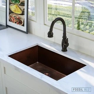 copper sink kitchen outdoor flat top grill buy sinks online at overstock com our best deals
