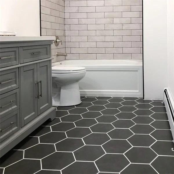 hexagon floor tiles online at overstock