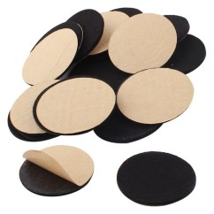Chair Felt Pads Exercises For Abs Shop Household Self Stick Table Furniture Mats Black 50mm 20pcs