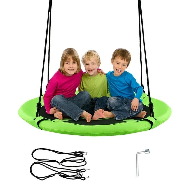 40 kids outdoor round net hanging rope