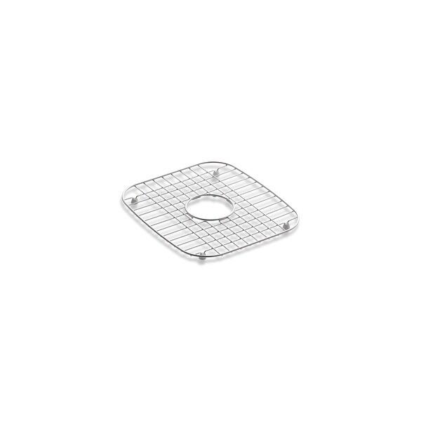 kohler vault stainless steel sink rack 32 x 16 11 16 for 36 single bowl apron front sink stainless steel k 6474 st